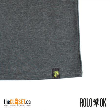 zoom camiseta gris