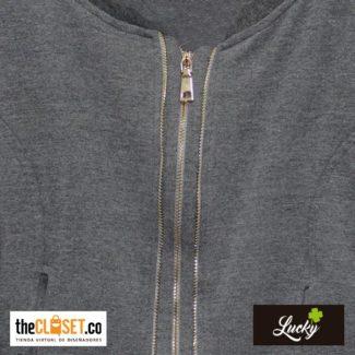 003-marca-lucky-chaqueta-mujer-gris-doble-cremallera-boutique-thecloset (1)