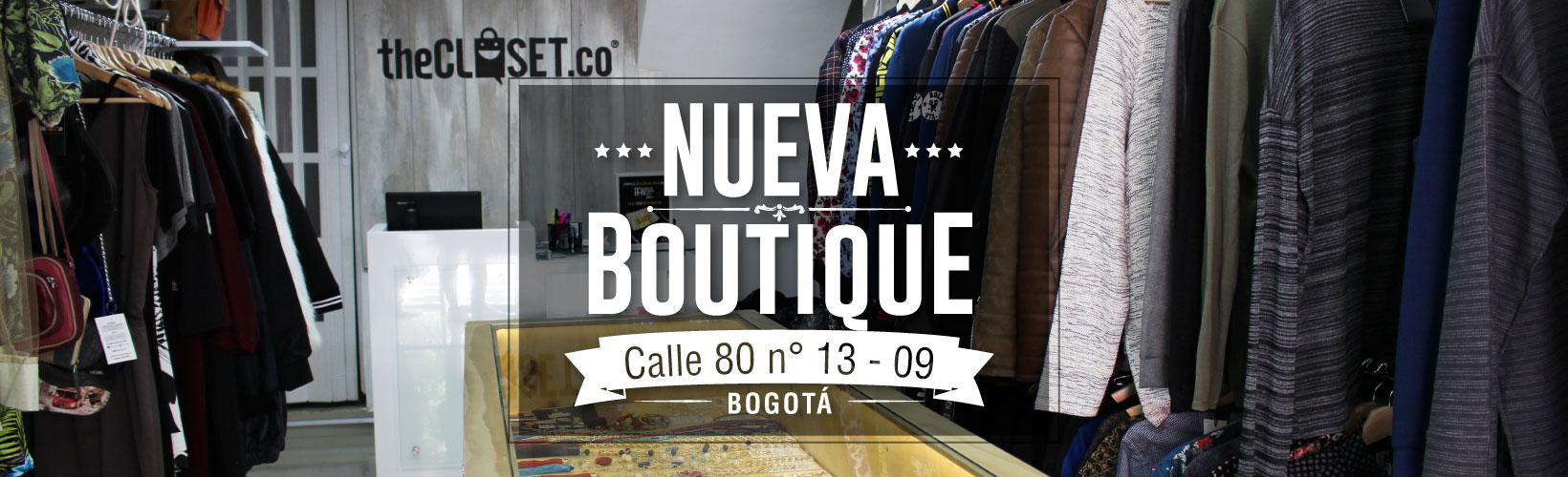 nueva boutique thecloset.co en el norte de bogota