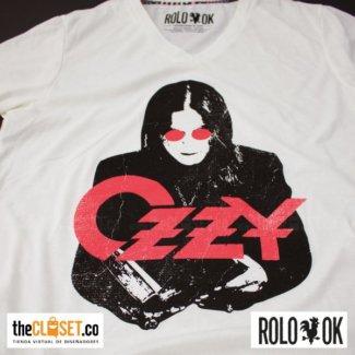 camiseta ozzy zoom blanca