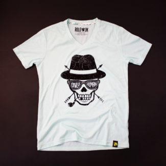 camiseta rolo-ok craneo only human thecloset.co