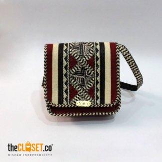 bolso mensajero rojo SINU TheCloset.co diseño independiente