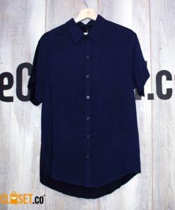 camisa liviana azul LA PETITE MORT theCloset.co diseño independiente