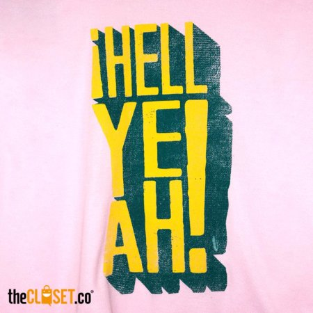 camiseta mujer Hell Yeah ROLO-Ok theCloset.co diseno independiente