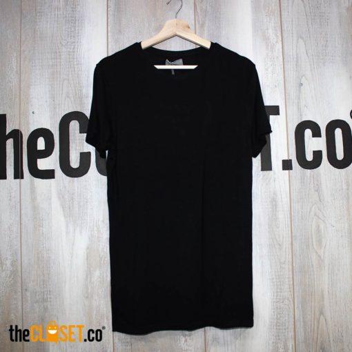 camiseta silencio negra LA PETITE MORT theCloset.co diseño independiente