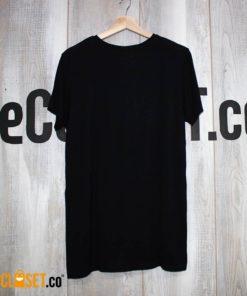 camiseta silencio negra espalda LA PETITE MORT theCloset.co diseño independiente