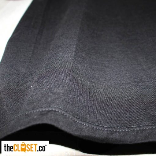 camiseta silencio negra textura LA PETITE MORT theCloset.co diseño independiente