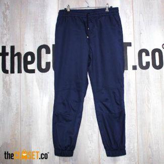 pantalon jogger azul LA PETITE MORT theCloset.co diseño independiente