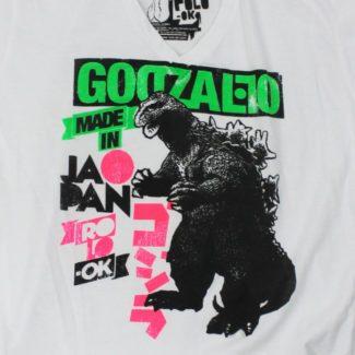 rolo-ok camisetas godzallo godzilla detalle