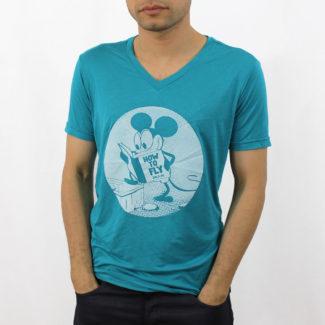 rolo-ok camisetas old-mouse cv azul