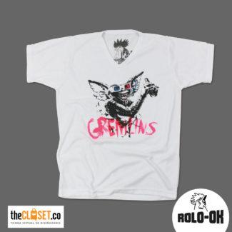 rolo-ok camisetas gremlins thecloset.co