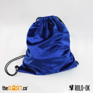 tula B velvet azul ROLO-OK theCloset.co diseño independiente