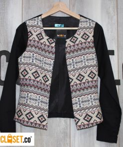 blazer tribal MILA CLOTHING theCloset.co diseño independiente