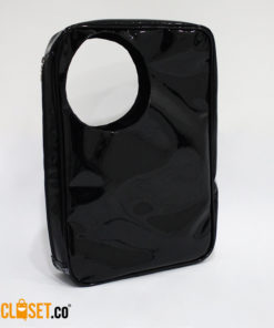 bolso hubo negro charol REVOLUCION URBANA theCloset.co diseño independiente