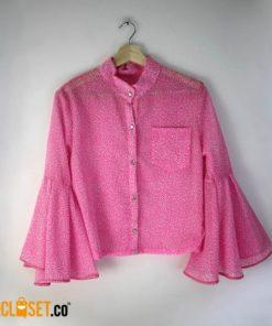 camisa boleros hojas neon ROTTEN MUZTARD theCloset.co diseño independiente