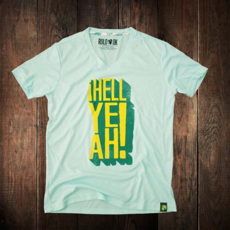 camiseta Rolo-ok hell yeah style thecloset.co diseño independiente