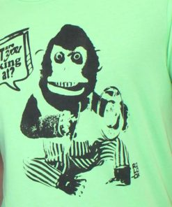 camiseta Rolo-ok monkey verde style thecloset.co diseño independiente