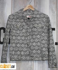 chaqueta noventas blancaynegro ROTTEN MUZTARD theCloset.co diseño independiente