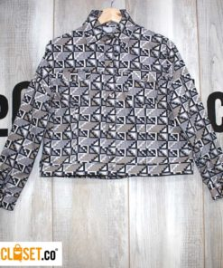 chaqueta rotten muztard 90s estampado thecloset.co diseño independiente