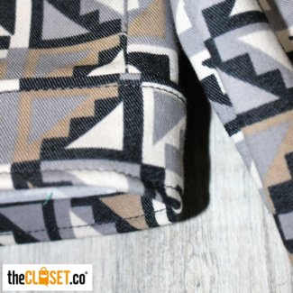 chaqueta rotten muztard 90s estampado thecloset.co diseño independiente