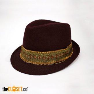 sombrero vinotinto Wannabe theCloset.co diseño independiente