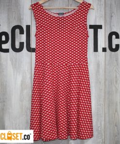 vestido cangrejo rojo REVOLUCION URBANA theCloset.co diseño independiente