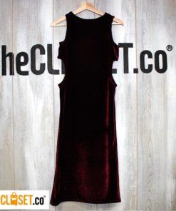 vestido velvet glitch thecloset.co diseño independiente
