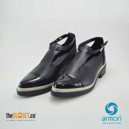 armori zapatos mafalda chic color negro