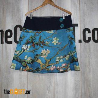Falda estampada mandala, vangoth
